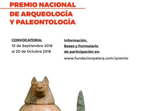 PREMIO NACIONAL DE ARQUEOLOGÍA Y PALEONTOLOGÍA