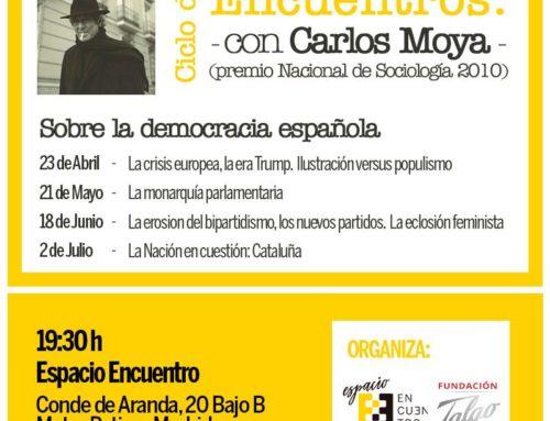 Ciclo de Encuentros: con Carlos Moya